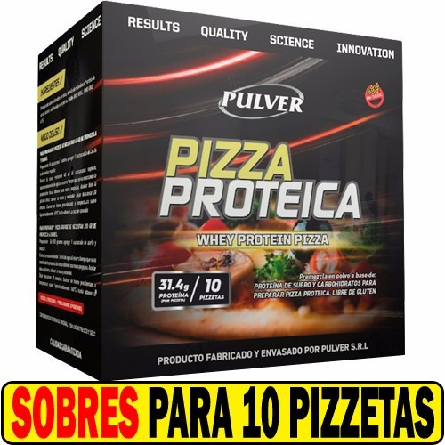 10 pizza whey protein pulver deliciosa saludable nutritiva
