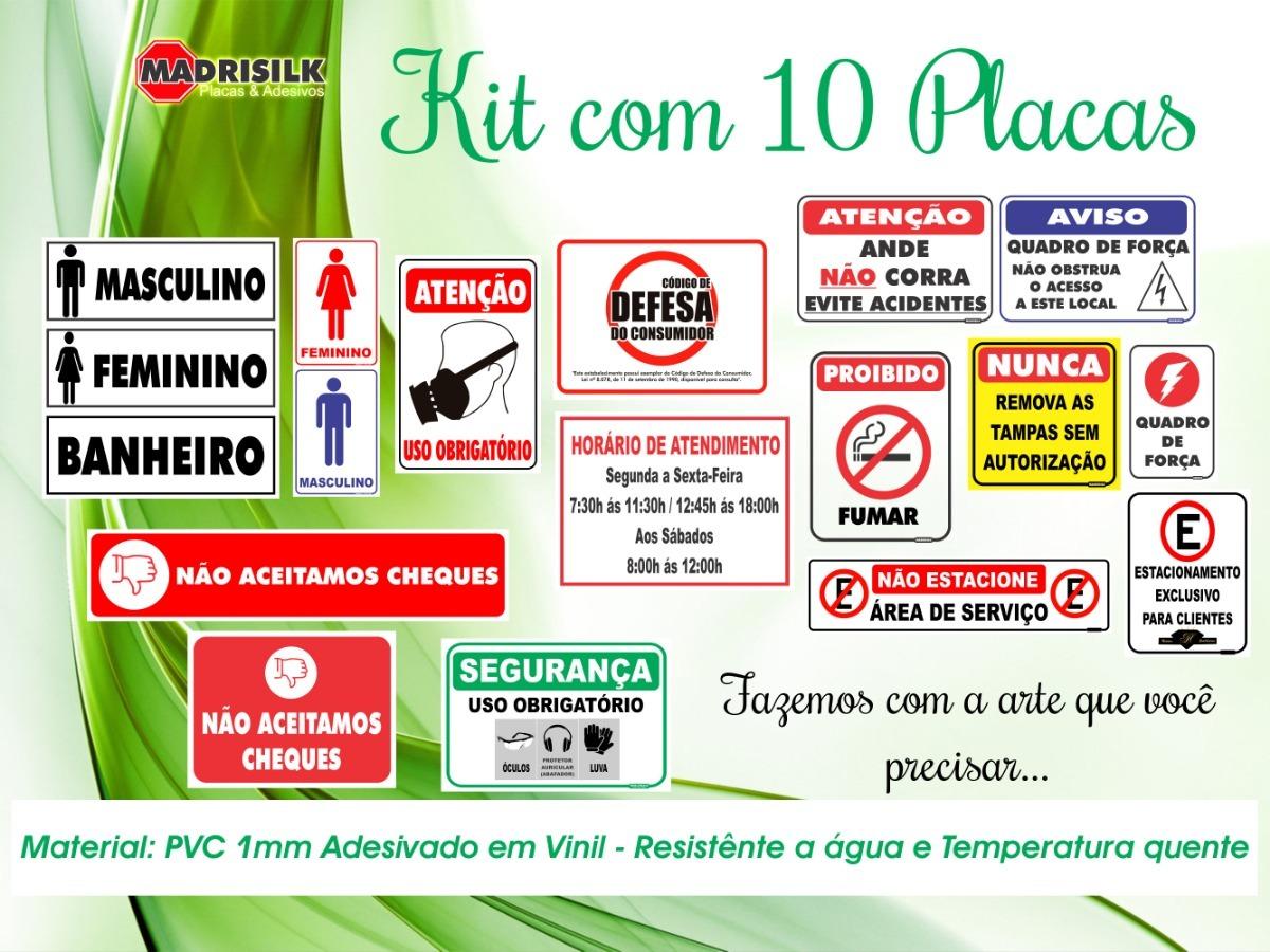 10 Placas Epi   Epis   Epi s   Segurança   Alerta 30cmx20cm - R  69 ... 9716697e7e
