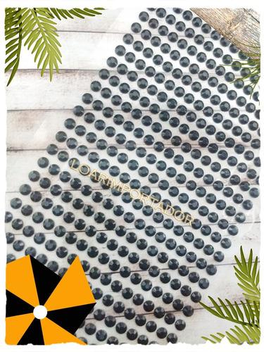 10 planchas strass perlas autoadhesivas ideal letras