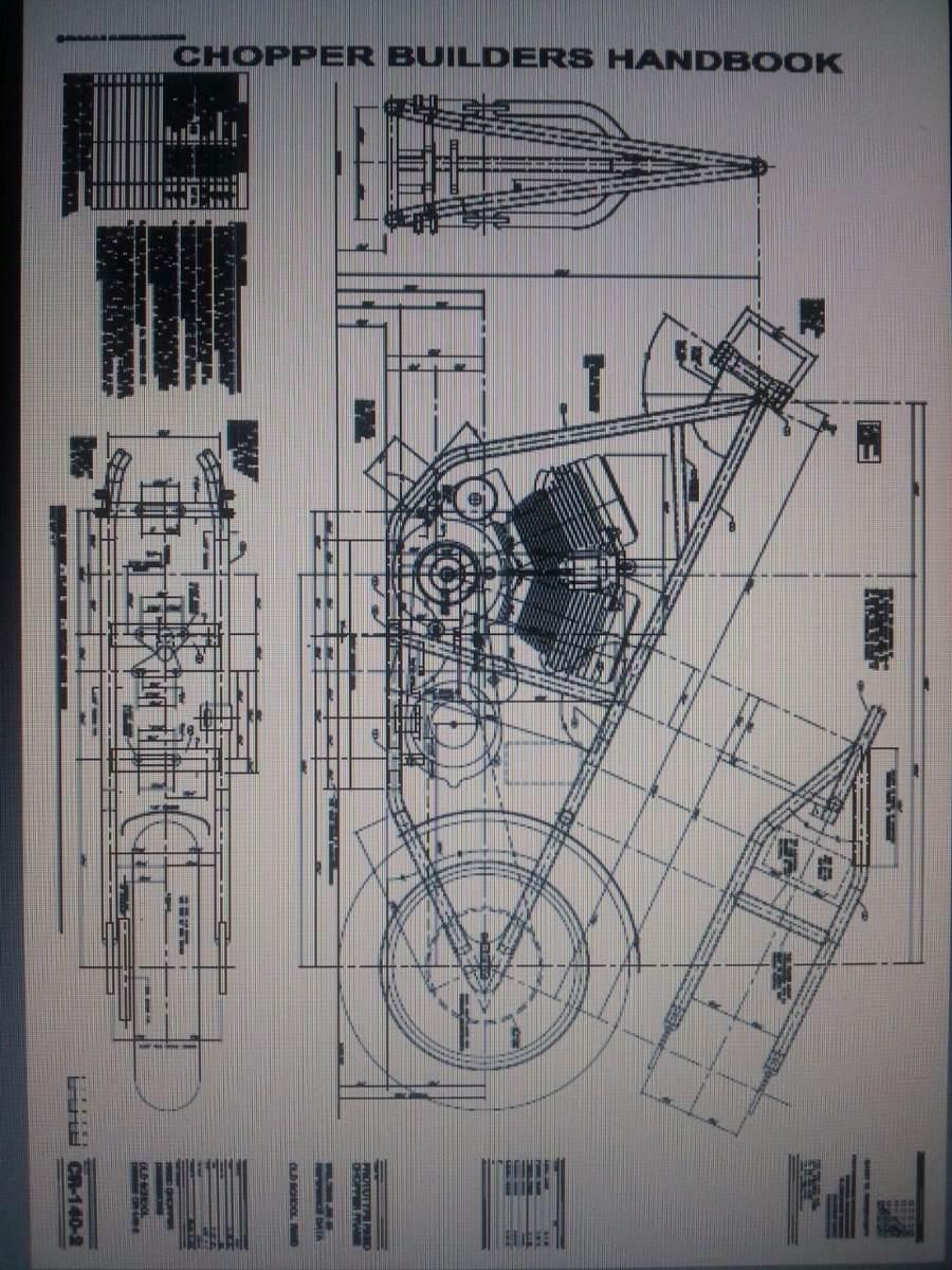 10 Planos Fabricaci N De Motos Choppers Bobbers 155