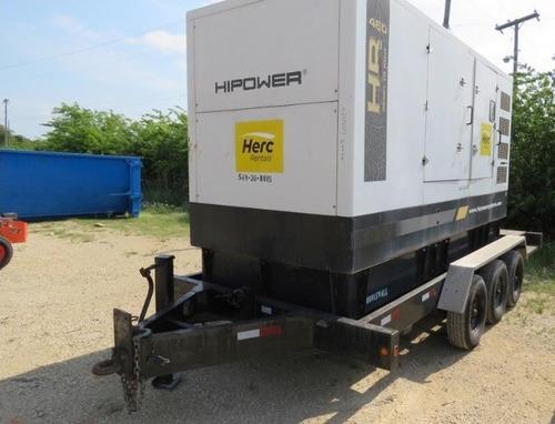 10) planta de luz y emergencia 368 kw hipower