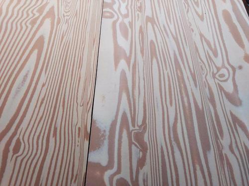 10 pliegos de foamy imitación madera