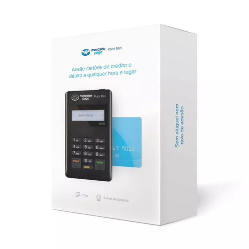 10 point mini máquina de cartões crédito pronta entrega