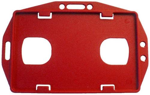 10 - porta carnets vertical rojo ofiart