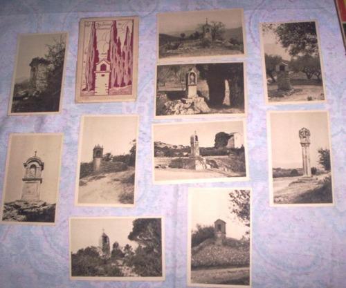 10 postais antigos oratórios católicos