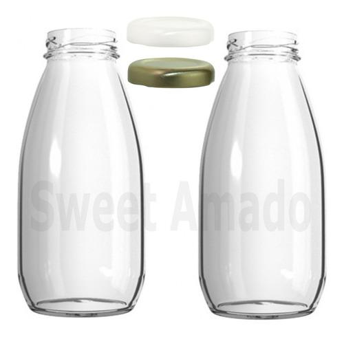 .10 pote garrafa leiteira suco condimento 250ml lembrancinha