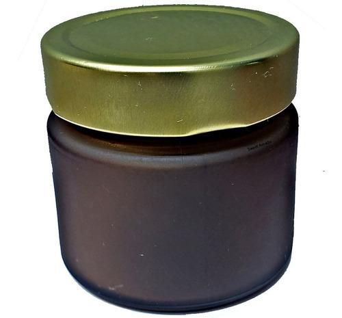 10 pote vidro âmbar tampa alta 150ml pianezza - sweet amado