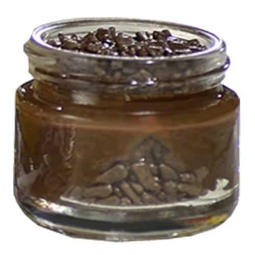 10 pote vidro tampa alumínio prata ou ouro 30ml brigadeiro