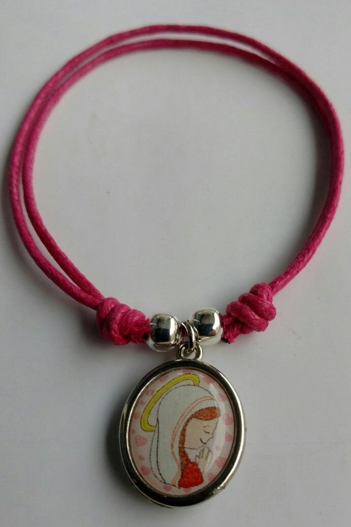 ab1e989e109f 10 pulseras virgen niña +bolsita -souvenir comunion bautismo. Cargando zoom.