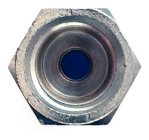 10 pz de conector/racor neumático recto hembra 1/4 x 1/4