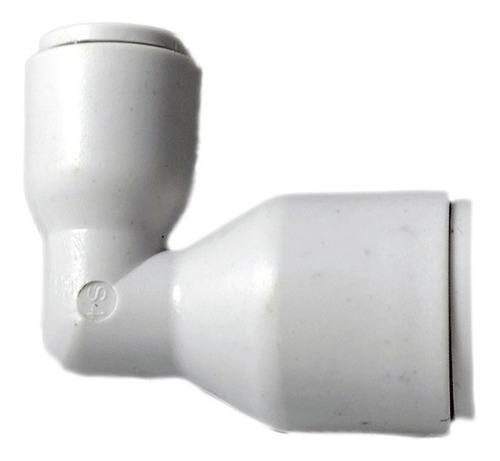 10 pz reductor en codo para osmosis inversa 1/4  x 3/8
