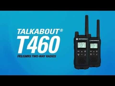 10 radio comunicadores motorola walktalk talkabout t460 56km