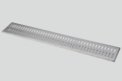 10 ralo linear 15x100 polido grelha em inox frete gratis