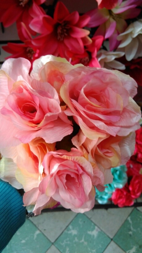 10 Ramos De Flores Artificiales Palo De Rosa Con Envio 700 00