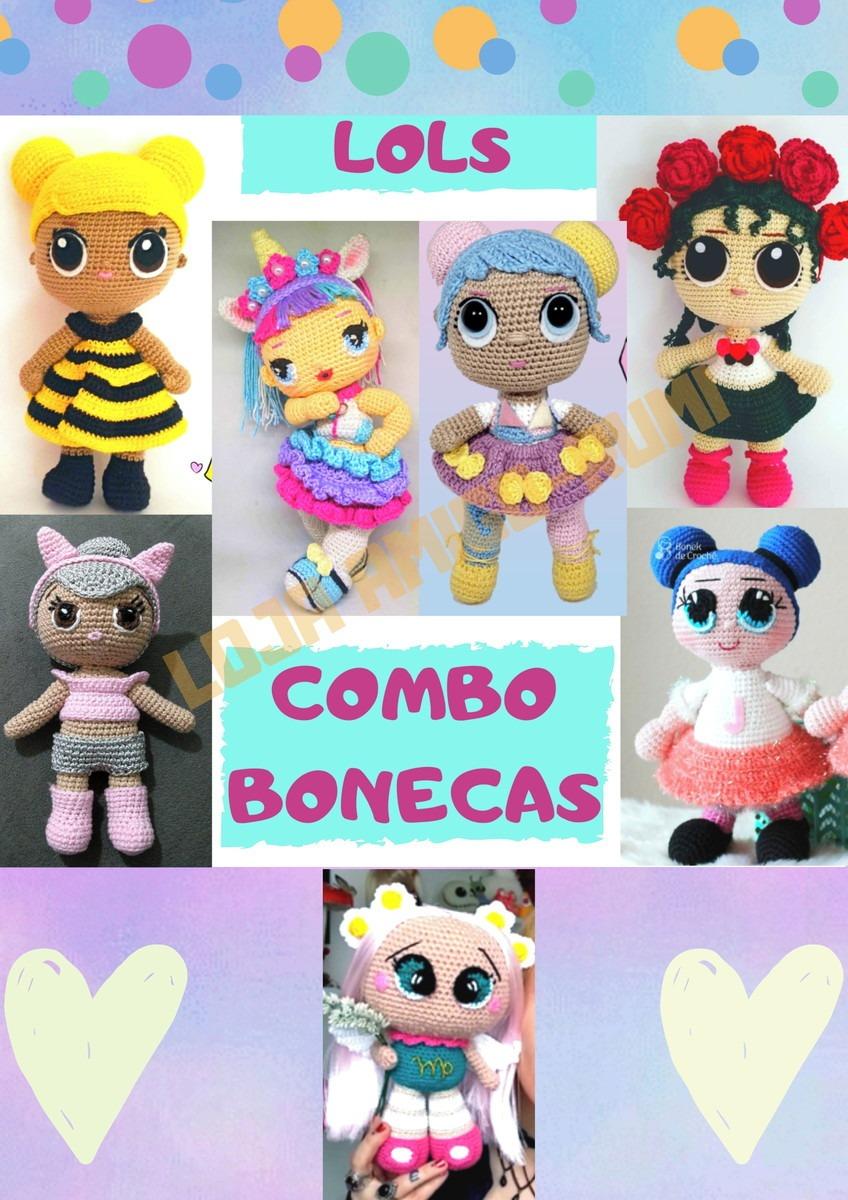 Amigurumi Bonecas Kit Receitas - R$ 25,00 em Mercado Livre | 1200x848
