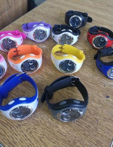 10-relógios infantis sport atacado revenda 10pç várias cores