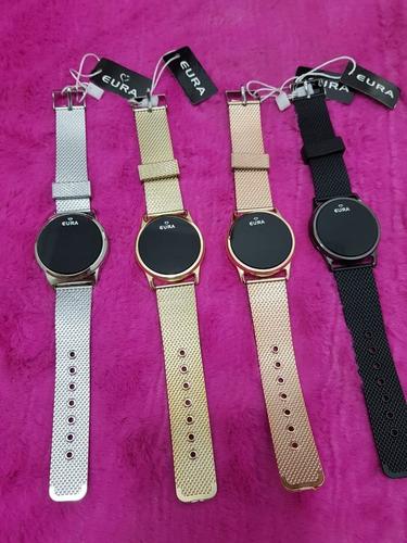 10 relógios led feminino várias cores (revenda atacado)