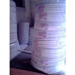 10 rollo caño corrugado 7/8  blanco ignifugo