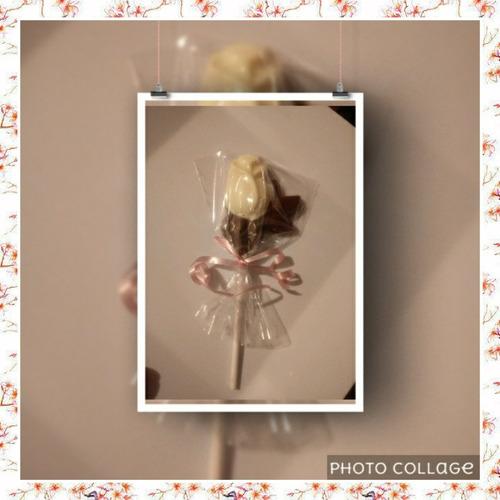 10 rosas de chocolate