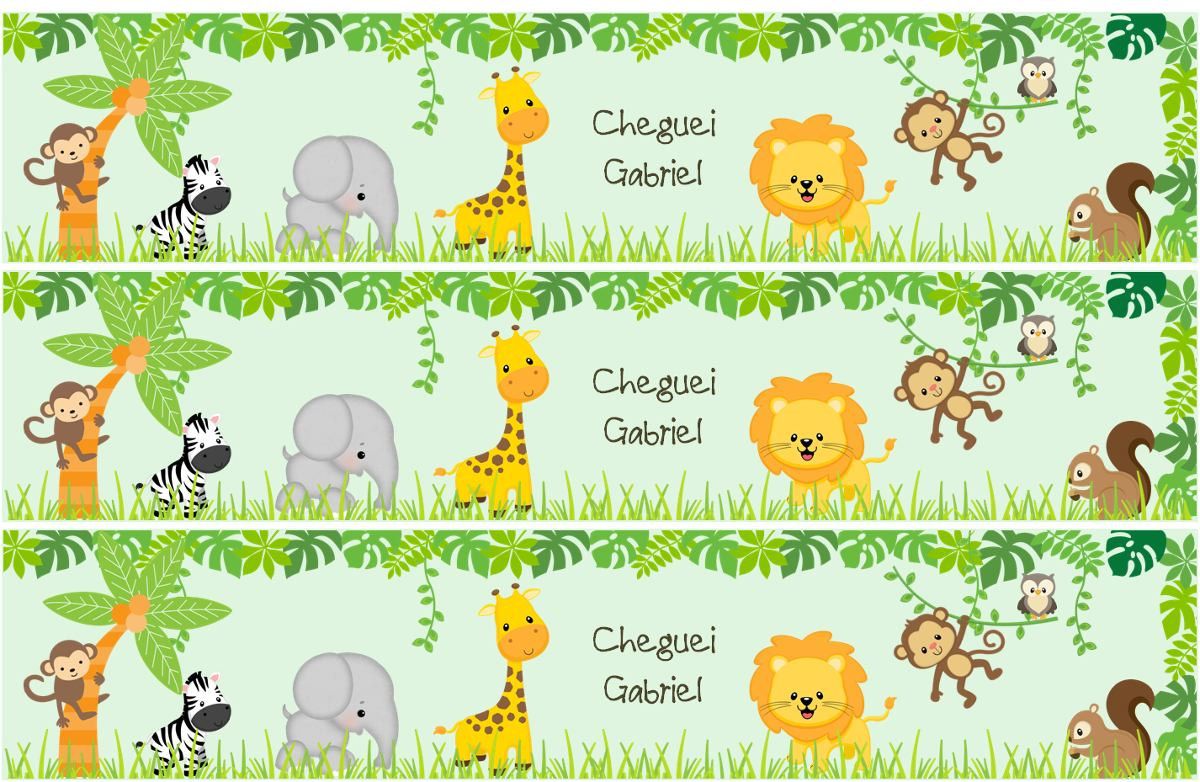 Baby Safari Baby Shower Jungle Adventure Shower