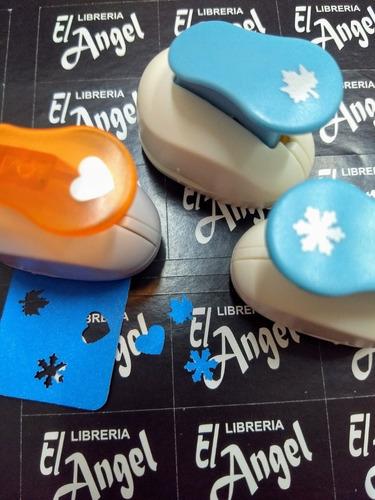10 sacabocados con forma perforadora goma eva o papel 10mm