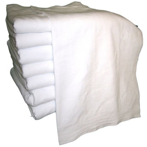 10 saco alvejado pano chão branco p/ limpeza preço  atacado