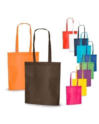 52dd5b342 10 Sacolas Bolsa Ecológica Reutilizável Tnt - R$ 25,00 em Mercado Livre
