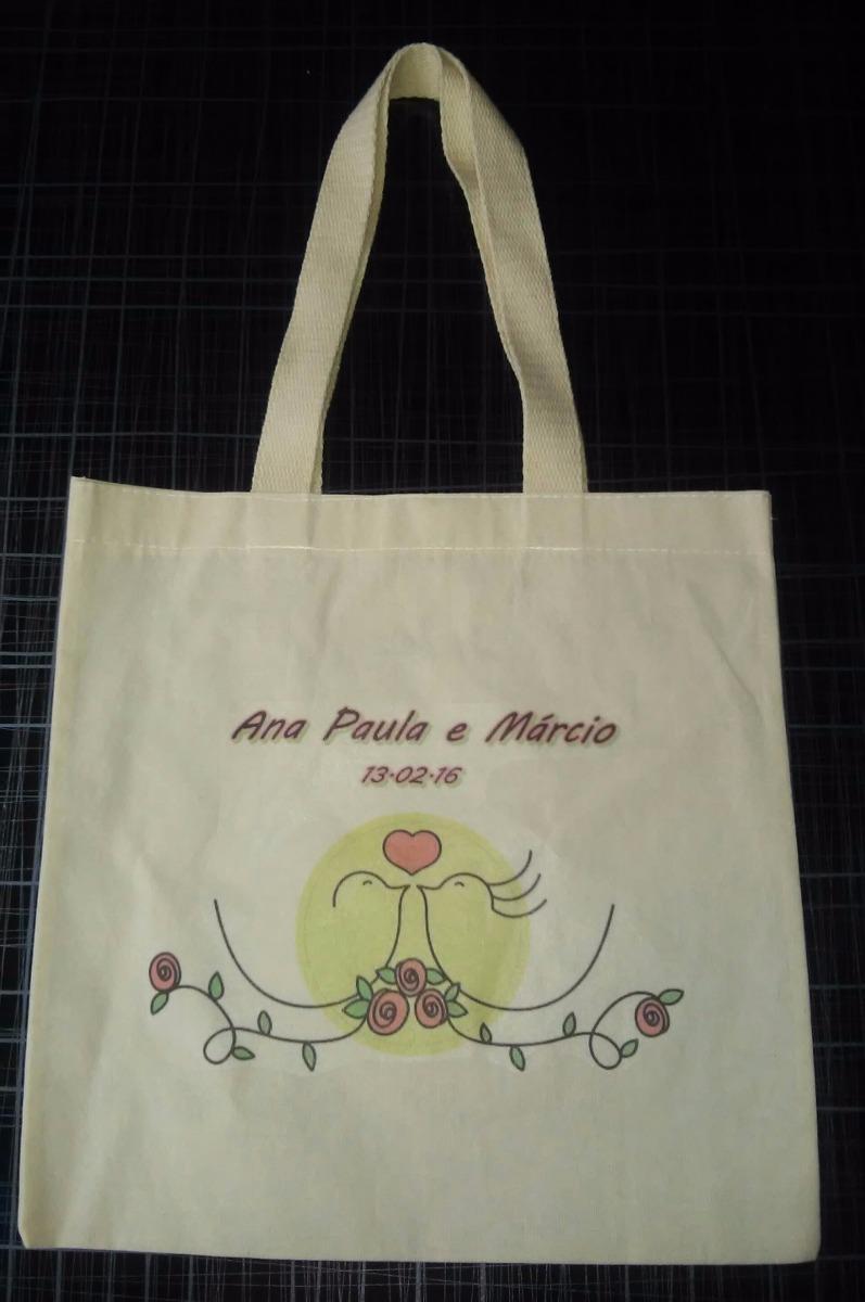 c03bef017 10 Sacolas Ecobag Personalizadas 40x40 - R$ 57,00 em Mercado Livre