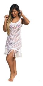 c337d8ce4 Vestido Wednesday Addams - Moda Praia com o Melhores Preços no Mercado  Livre Brasil