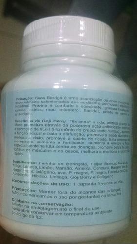 10 seca barriga com goji berry +colágeno 50cápsulas cada