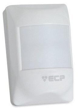10 sensor infra vermelho com fio ecp visory interno alarme