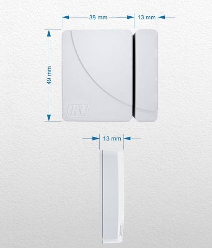 10 sensor magnético s/fio jfl shc-fit 433mh design ultrafino