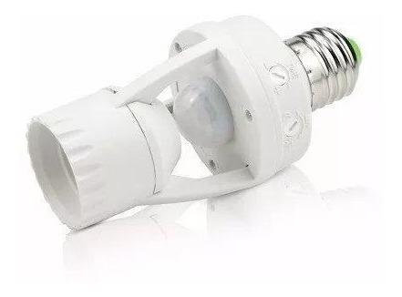 10 sensor presença moviment soquet fotocélula infrared bs551