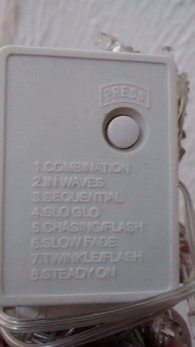 10 series led 10 mts blanco calido 100 mts interconectable