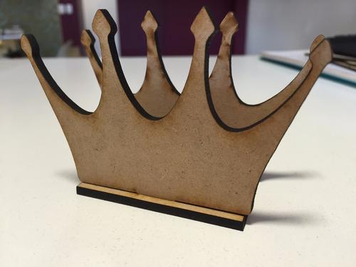 10 servilleteros  corona fibrofacil