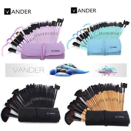 10 sets de brochas para maquillaje profesional vander