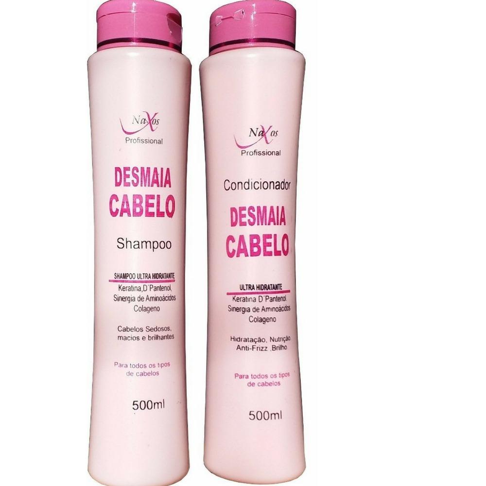 c0f06cc28 10 Shampoo + 10 Condicionadores Naxos Desmaia Cabelos 500g - R$ 119 ...