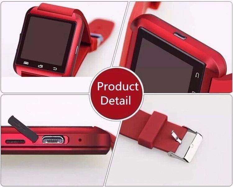 205d164a834 10 Smartwatch U8 Relógio Inteligente Bluetooth Android Ipho
