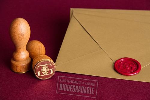10 sobres kraft invitaciones cartulina de 205 gr.19x14 cm