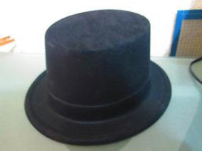 85beb4fd 70 Sombrero Copa Negro Mago Terciopelo Disfraz Catrin Niño