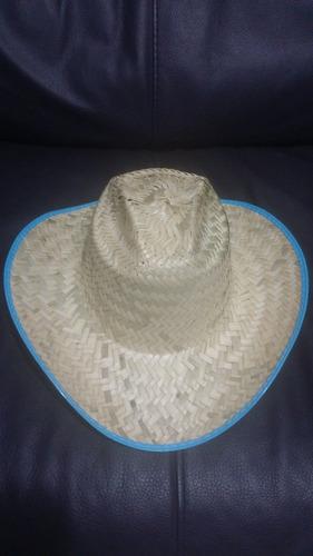 10 sombrero texano palma adulto barato fiesta boda batucada