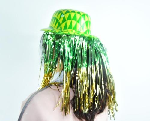 10 sombreros con peluca fiesta boda xv batucada animación