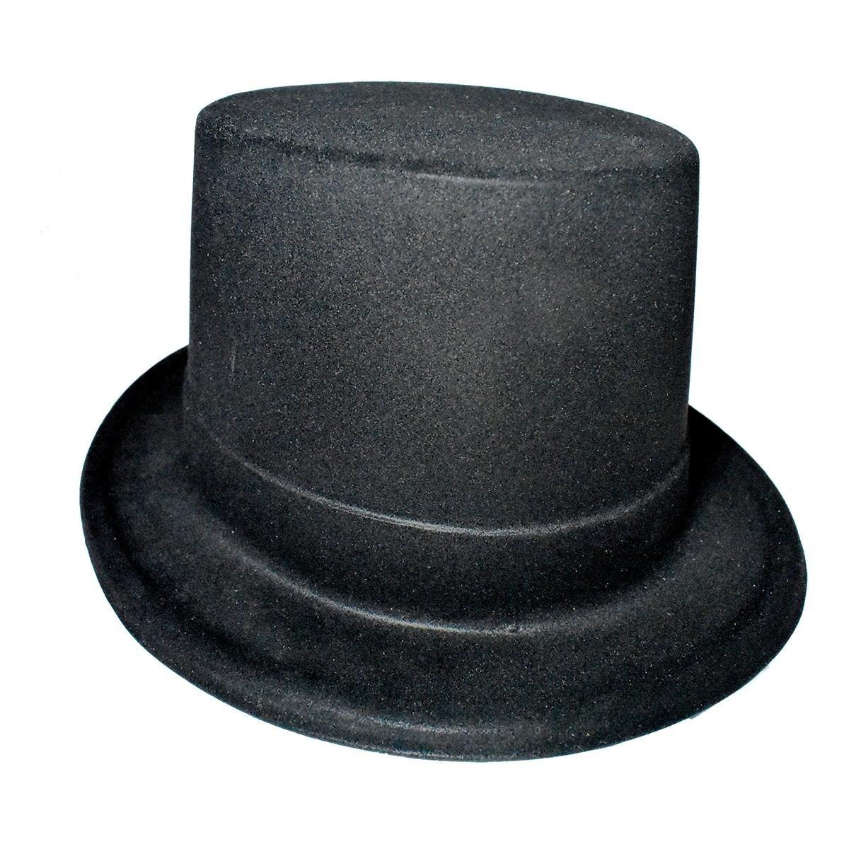 48d706286e693 10 Sombreros Copa Negros Para Fiestas Eventos Tipo Mago -   155.00 ...