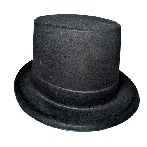 10 sombreros copa tipo mago para fiestas eventos batucadas