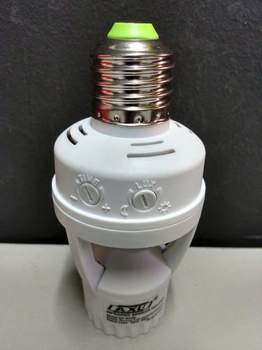 10 soquete e27 sensor presença lâmpada timer ate 60w economi