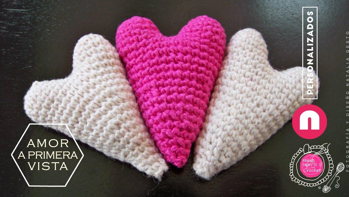 Amigurumi Llavero Corazon : Corazón amigurumi llavero broche tarsagurumi crafts artesanio