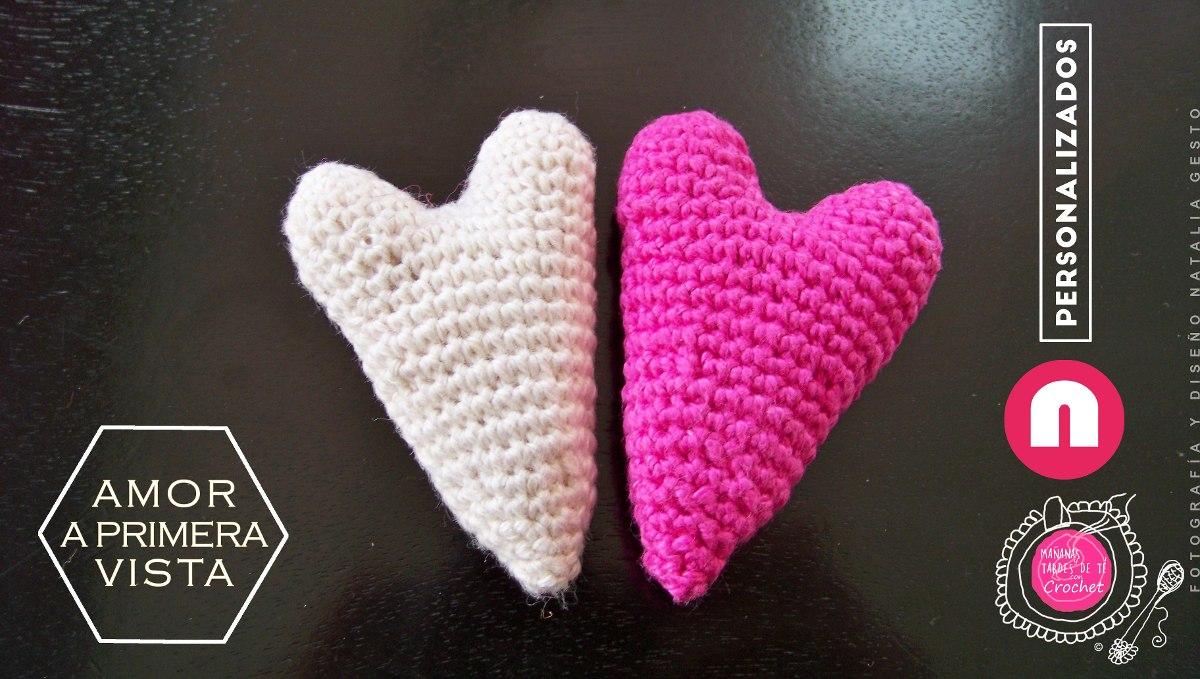 Amigurumi Llavero Corazon : Corazon amigurumi a crochet diestro youtube