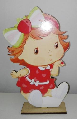 10 souvenirs + central frutillita bebe