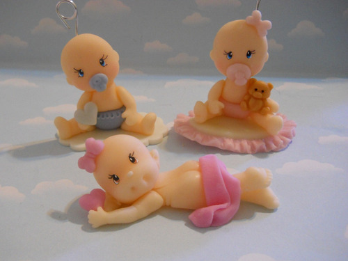 10 souvenirs en porcelana fria.nacimiento. bautismo. iman