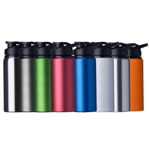 10 squeeze alumínio metal 600 ml - promoção